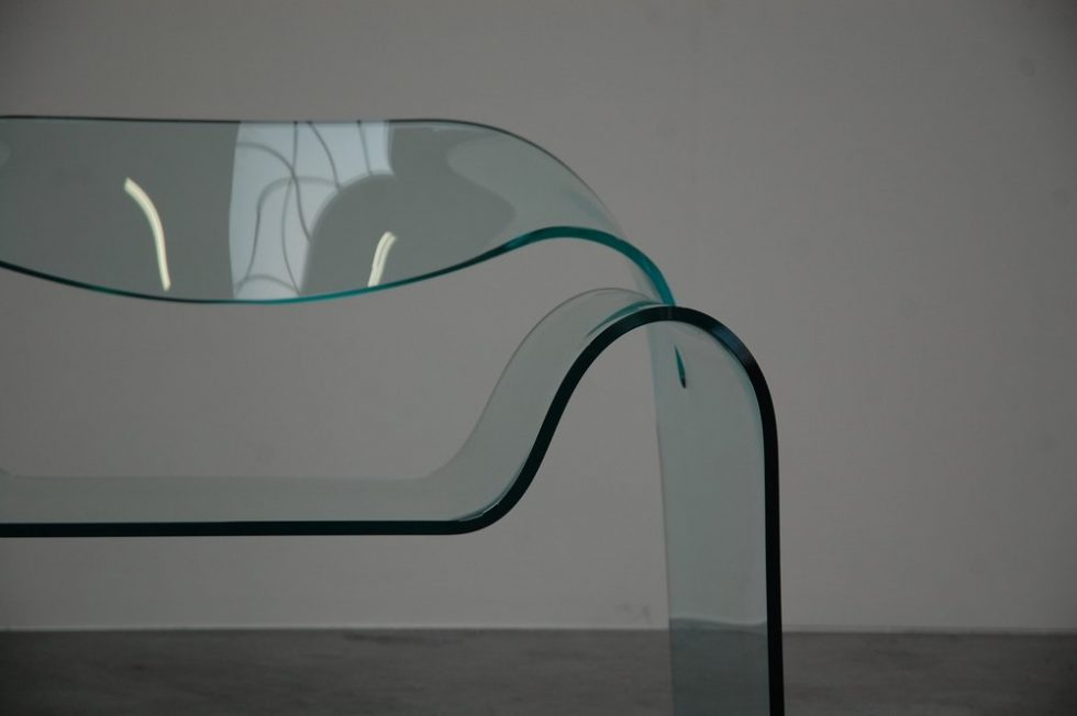 Cini Boeri 'Ghost chair' for Fiam 1987