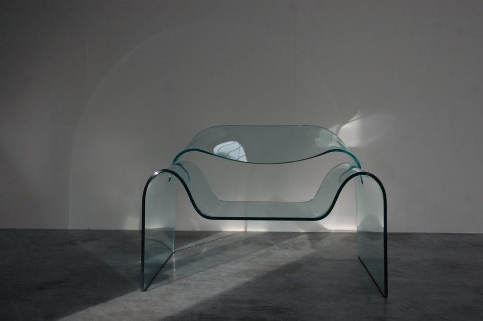 Cini Boeri 'Ghost chair' for Fiam 1987