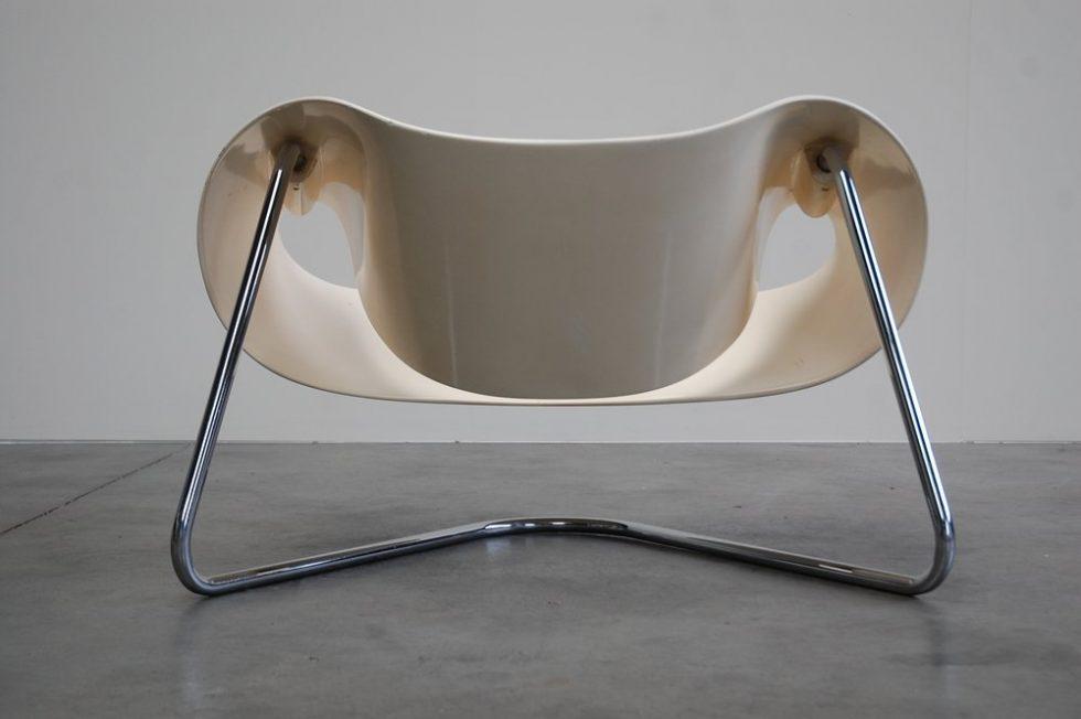 Franca Stagi and Cesare Leonardi Ribbon' chair model CL9 by  for Bernini 1961