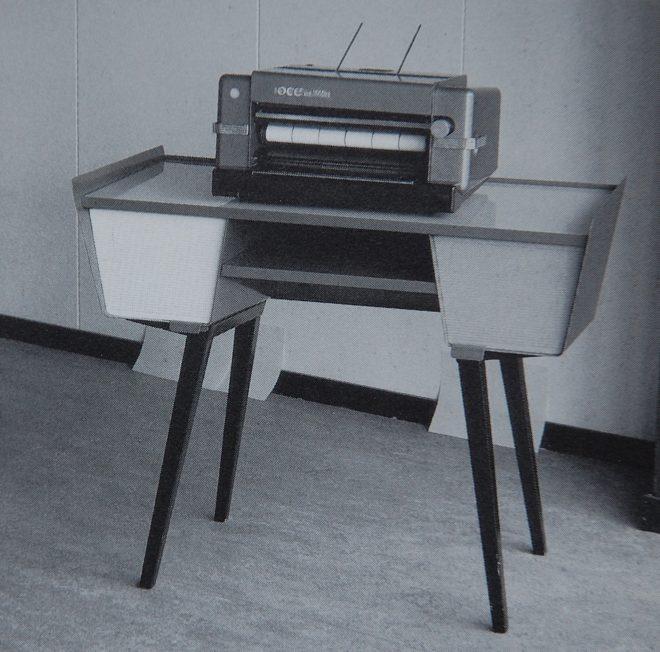Beautiful Dutch fifties desk, unknown