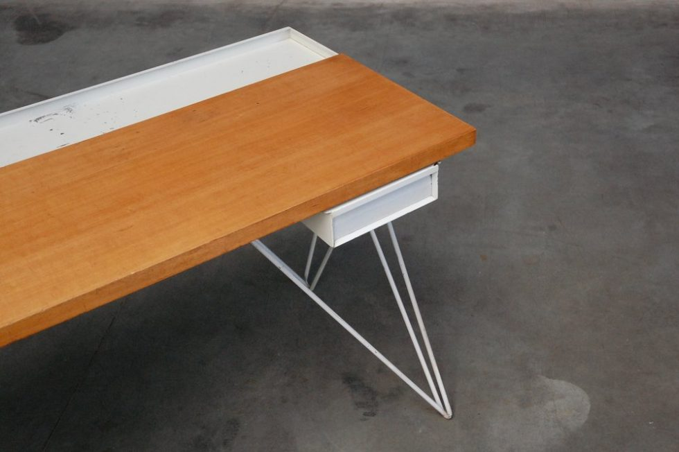Coen de Vries Pilastro desk & chair Holland 1956