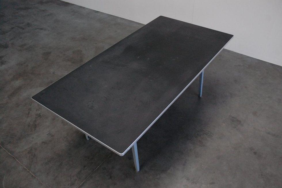 Friso Kramer Reform table with linoleum top 1955