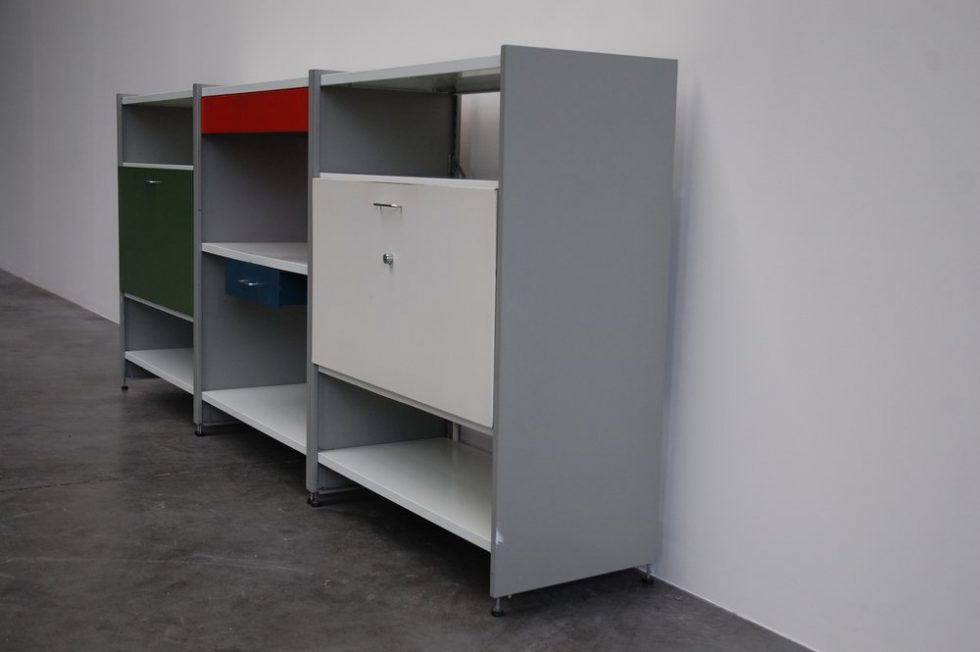 Andre Cordemeijer 5600 storage units for Gispen 1962
