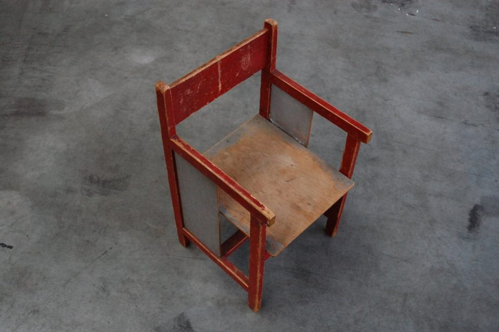 RARE kids chair by Koo Verzuu for Ado 1932