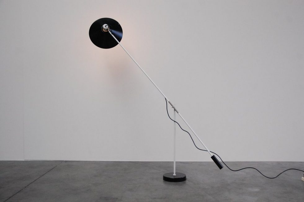 JJM Hoogervorst counter balance floor lamp for Anvia 1950s