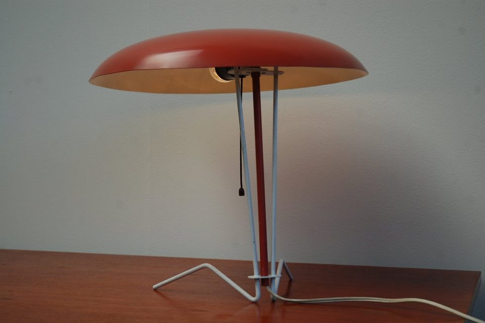Philips desk lamp by Louis Christiaan Kalff 1954