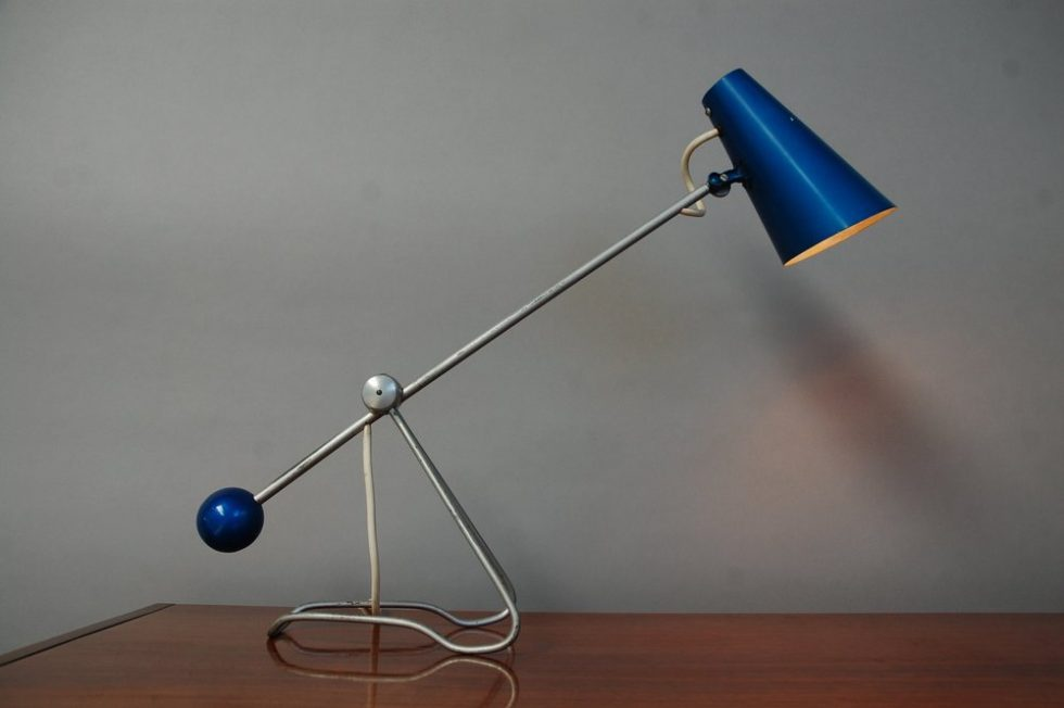 Mathieu table lamp, France ca 1950