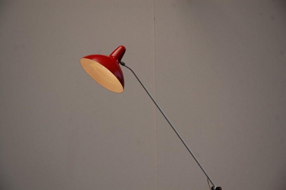 Artimeta floor lamp by F.H. Fiedeldij 1956