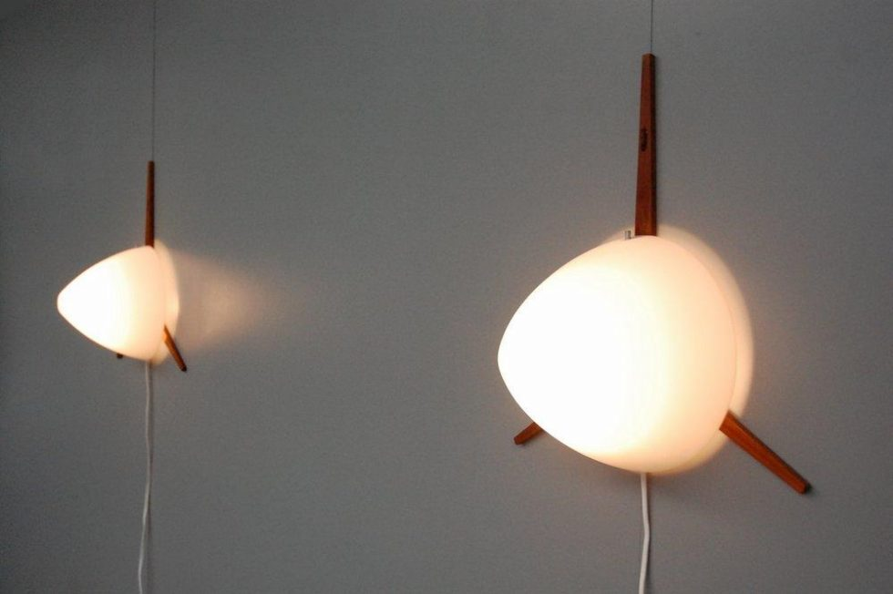RAAK sconces pair by Eje Ahlgren 1957
