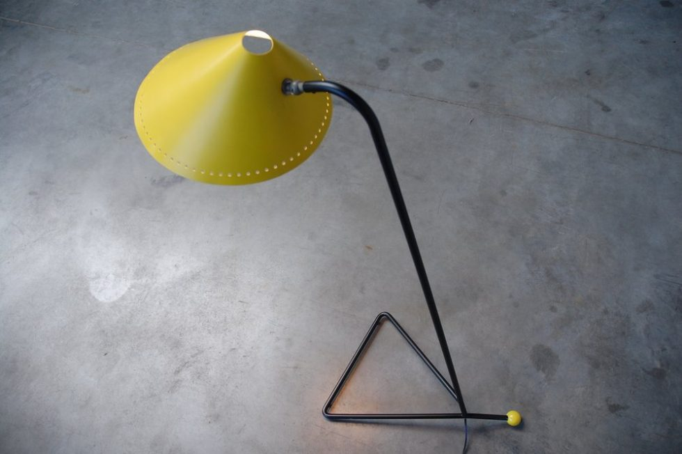Dutch, probably Hala floor lamp ca 1955