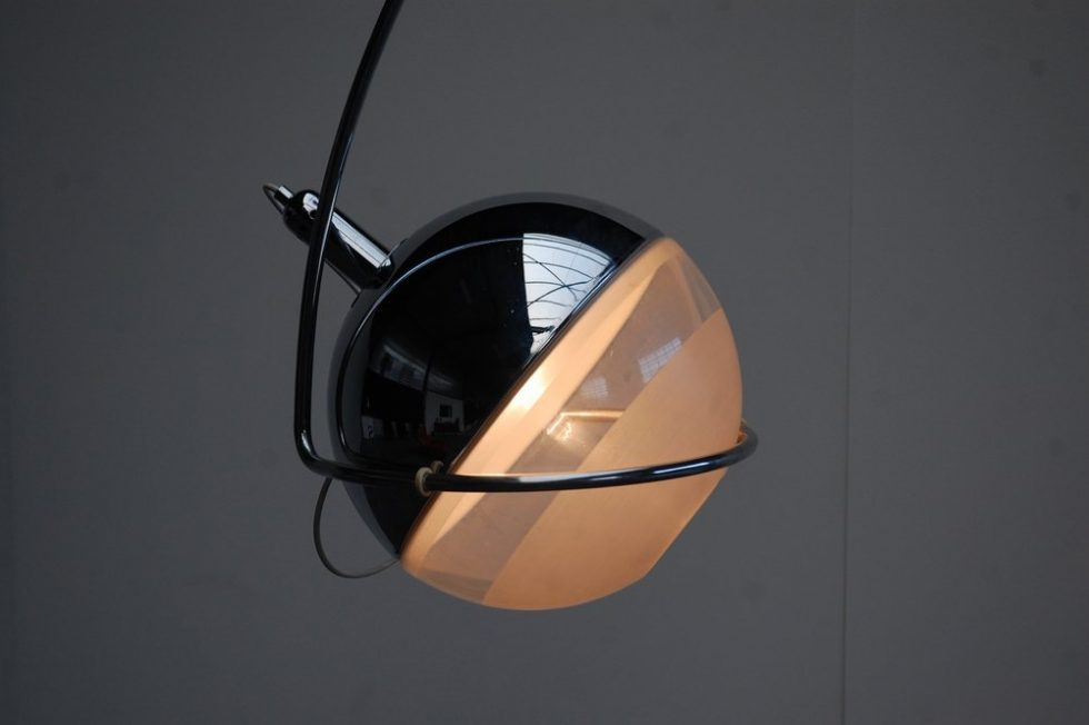 Fabio Lenci Guzzini Focus floor lamp Italy 1972