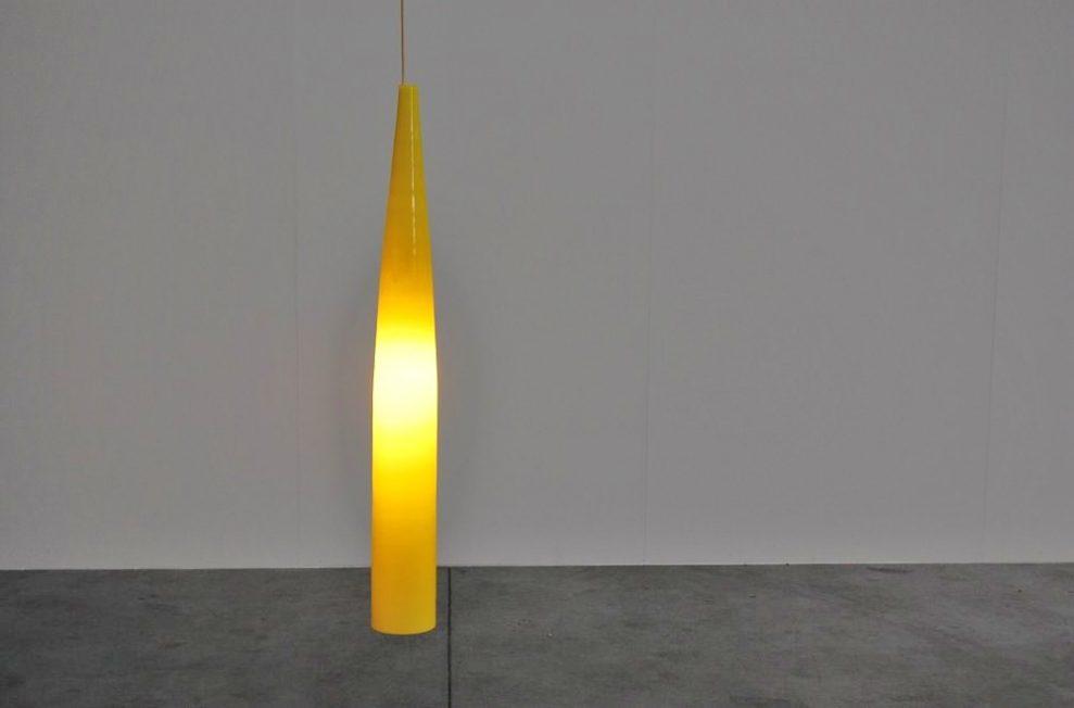 Alessandro Pianon Vistosi lamp, Murano Italy 1960
