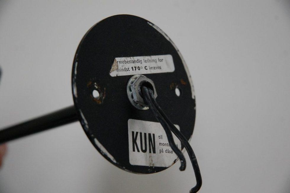 Arne Jacobsen 'Visor' wall lamp for Louis Poulsen 1958