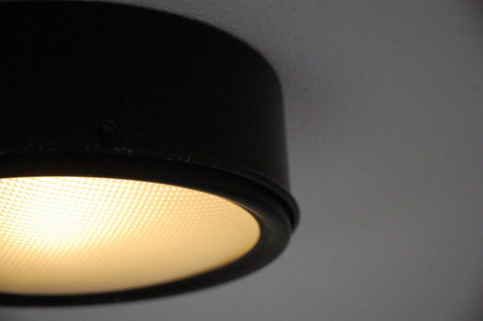 Gino Sarfatti Arteluce ceiling lamp 1962