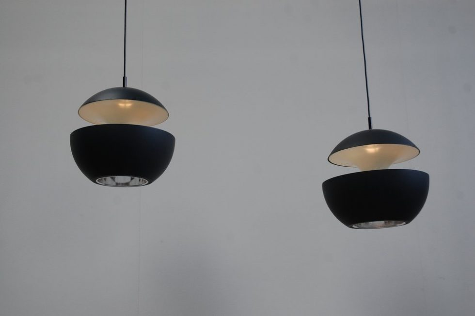 RAAK ceiling lamps 'Fontaine Jaillissante'by Betrand Balas for Raak 1970