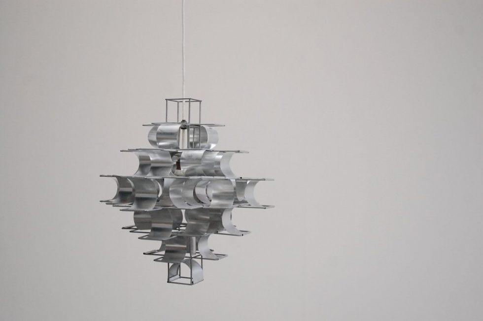 Max Sauze 'Cassiope' lamp ceiling fixture 1970