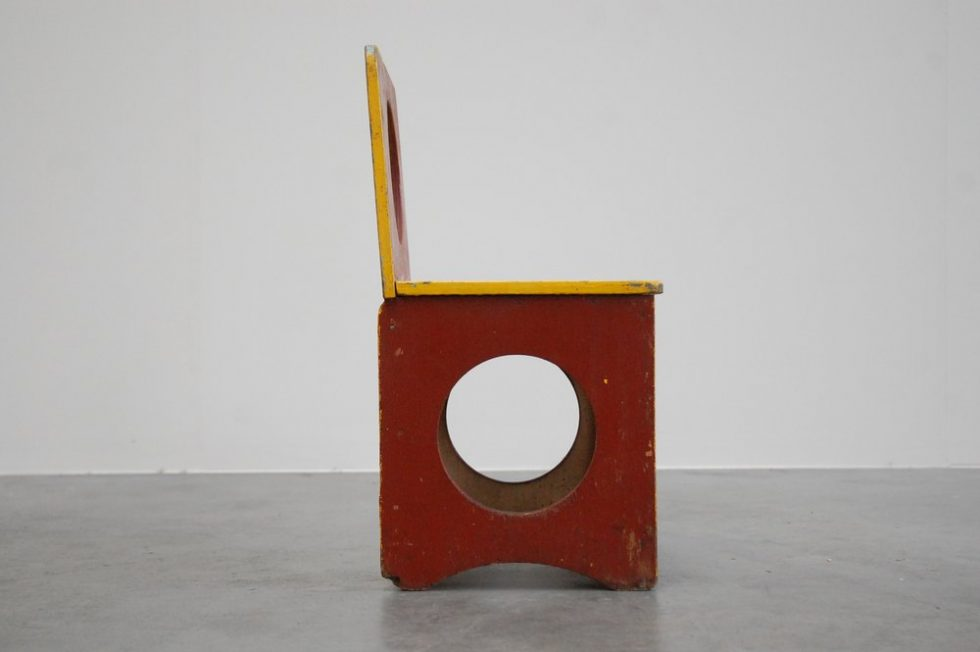 Modernist kids chair in the manner of ADO 1950s