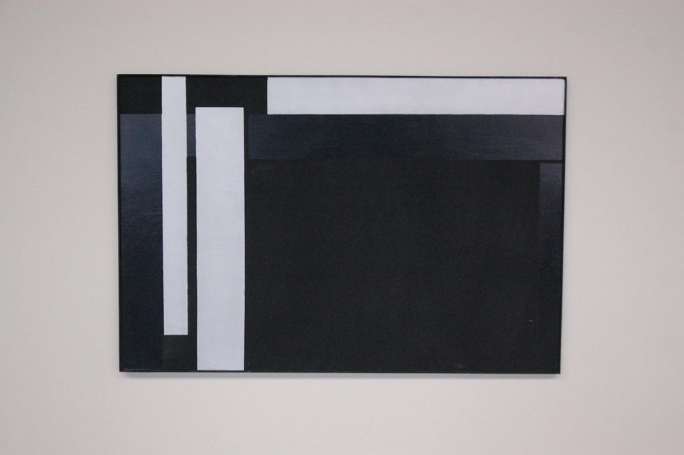 Rudolf Wolf Abstract modern large Artwork 1981