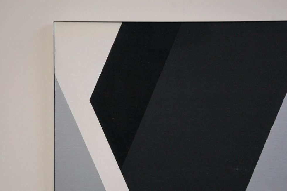 Rudolf Wolf Abstract modern large Artwork 1980
