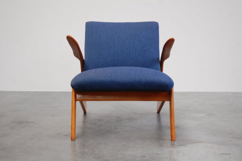Alfred Hendrickx S6L Easy Chair for Belform 1958