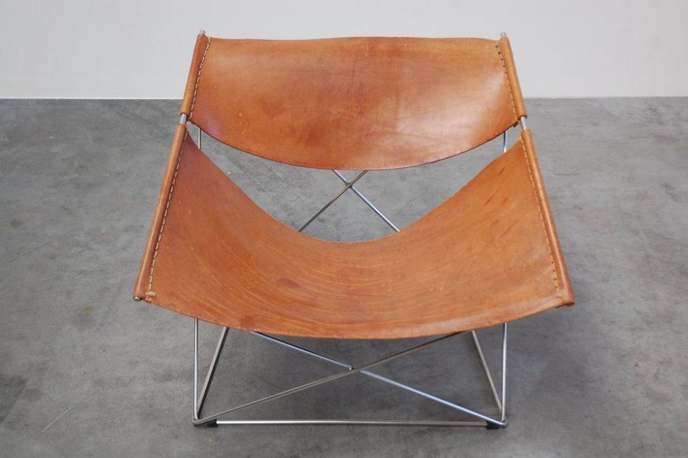 Pierre Paulin F675 Butterfly chair for Artifort 1963