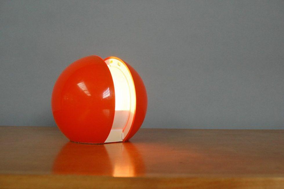 Gianni Colombo Gea table lamp Arredoluce 1970