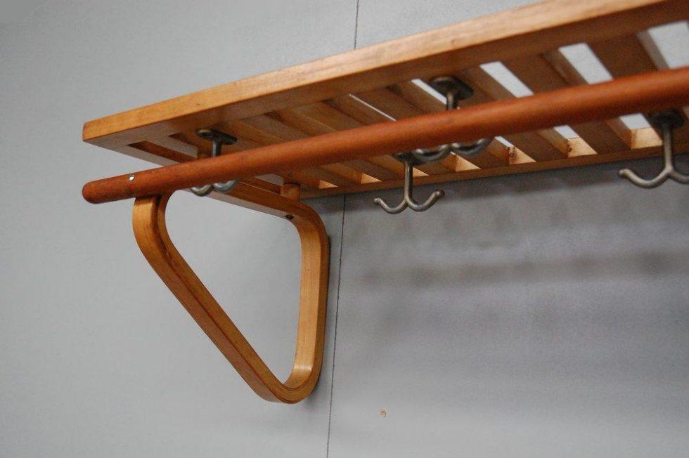 Alvar Aalto coat rack for Artek Finland 1930