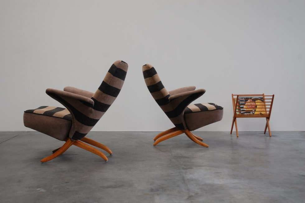Theo Ruth Artifort Pinguin chairs for Artifort 1957