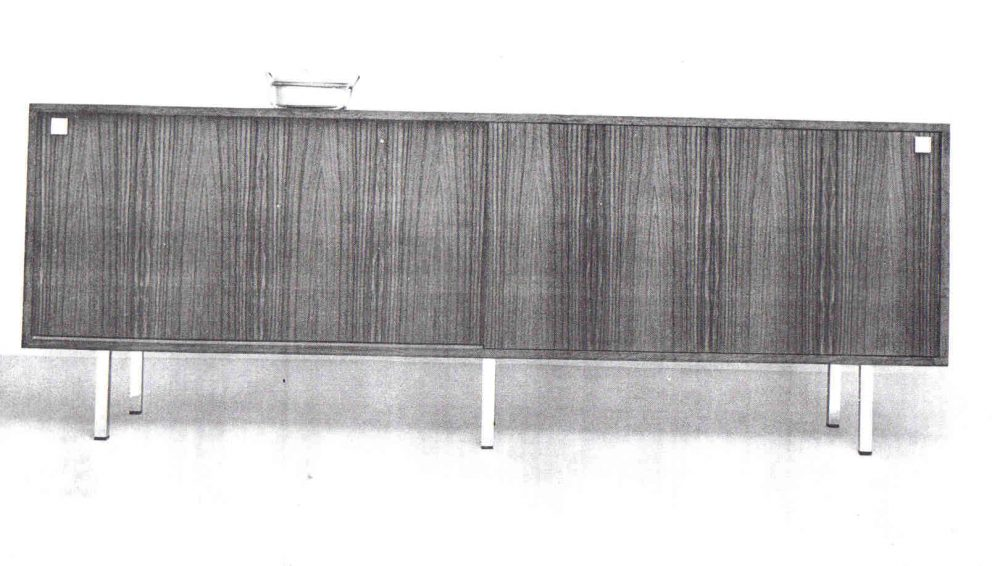 Alfred Hendrickx sideboard for Belform end 1950s