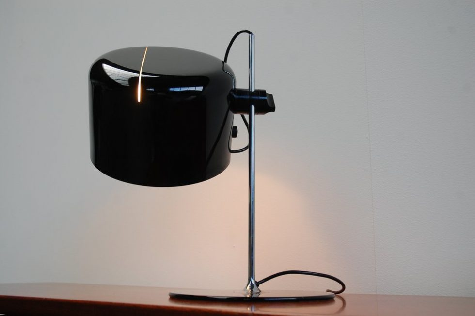Joe Colombo 'Coupe'  table lamp for Oluce 1964