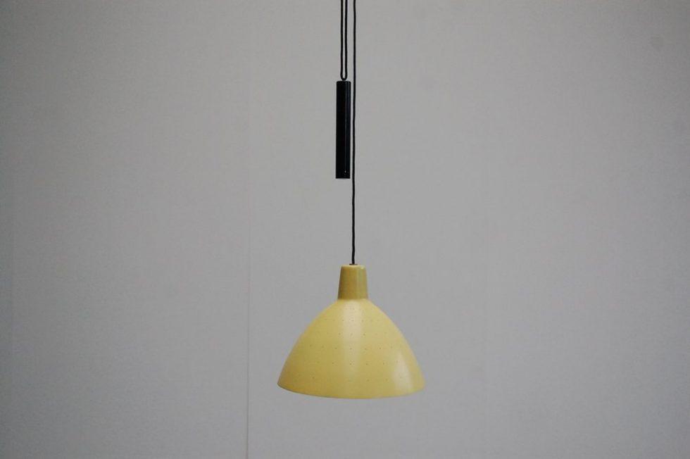 Franco Albini Arteluce balance ceiling lamp 1950s