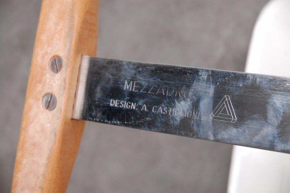 Achille Castiglioni 'Mezzadro' stool for Zanotta 1973