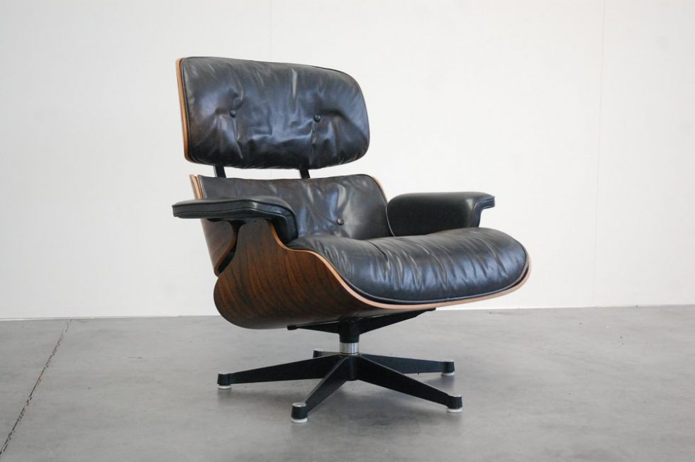 Charles and Ray Eames Lounge Chair for Herman Miller 1958