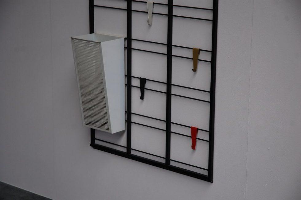 Pilastro toonladder coat rack by Coen de Vries 1950s