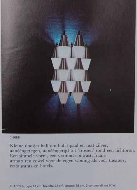 RAAK 'Ludiek' sconces impressive pair from 1970