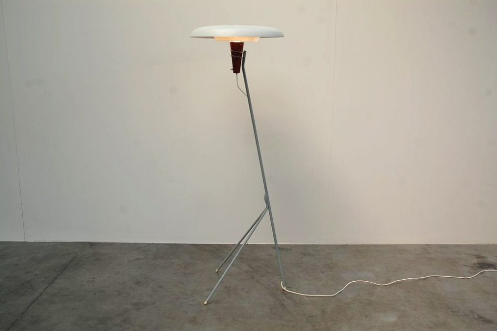 Philips floor lamp NX 38 by Louis Christiaan Kalff 1957
