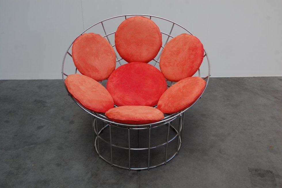 Verner Panton Peacock chair for Plus Linje 1960