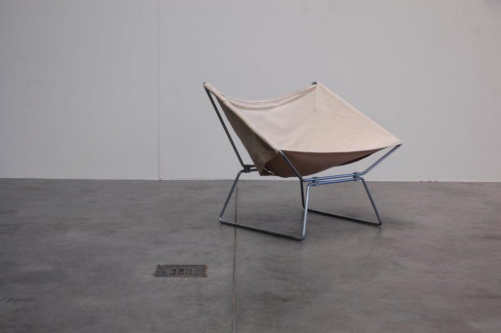 Pierre Paulin Polak Easy chair by AP Originals 1955