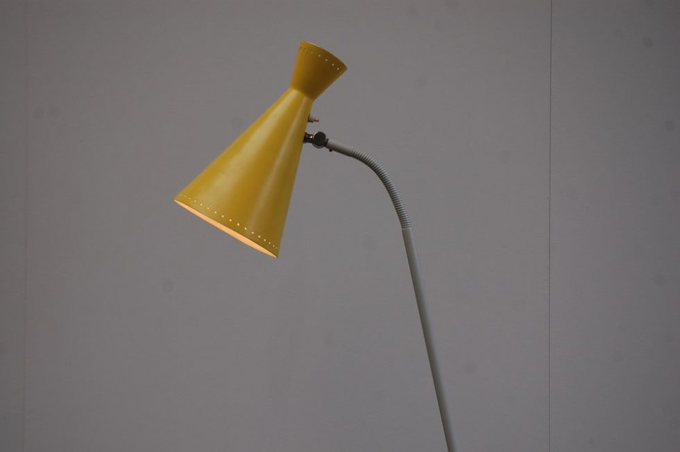 Hala Pinocchio floor lamp by H.Th.J.A Busquet 1954
