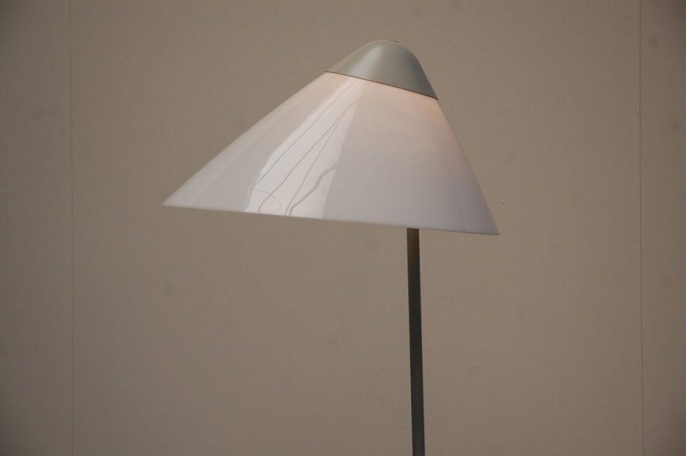 Hans J Wegner 'Opala' floor lamp for Louis Poulsen 1975