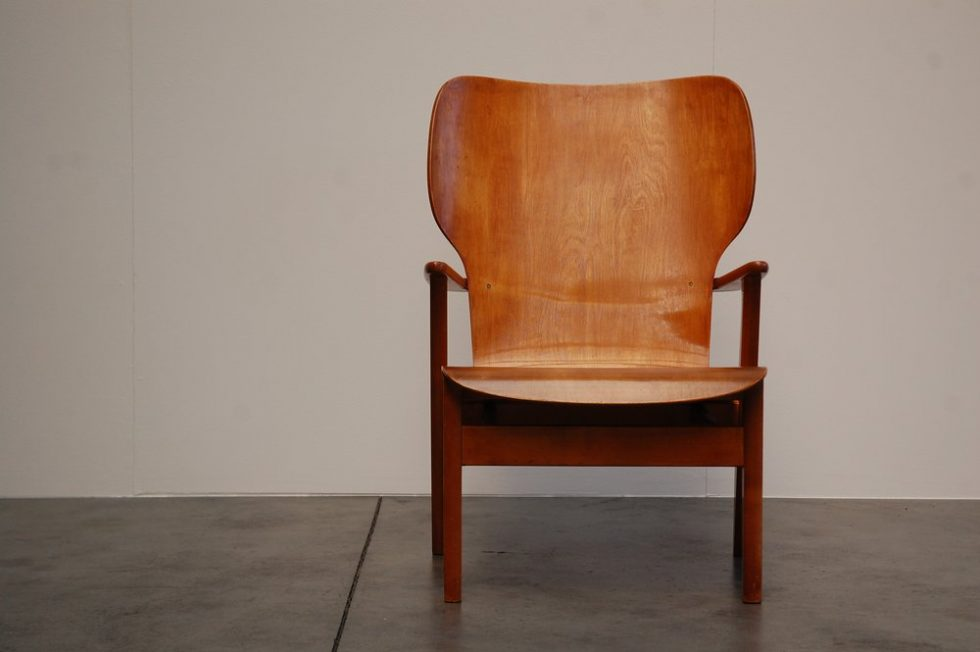 Ilmari Tapiovaara Domus Lux lounge chair, 1948