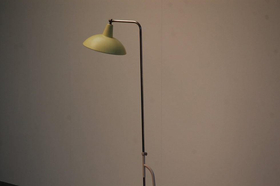 Louis Christiaan Kalff floor lamp for Philips 1950
