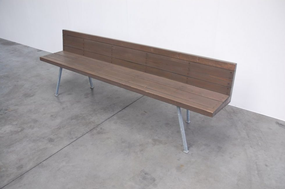 Dom Hans van der Laan bench for the Monastery of Vaals 1960
