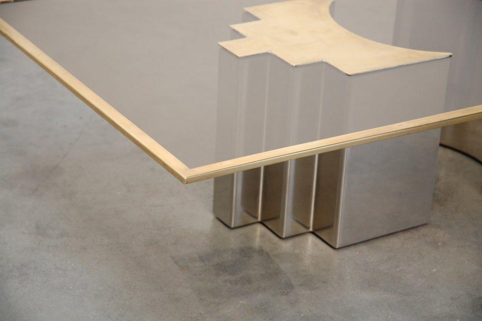 Christian Heckscher coffee table Unique Piece 1972