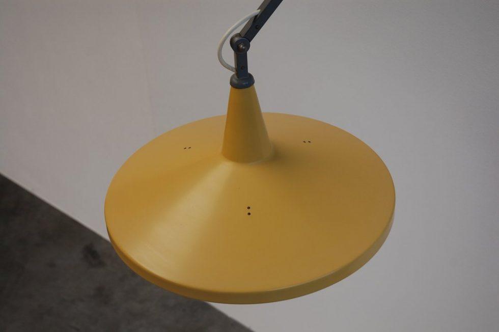 Wim Rietveld Gispen Panama wall lamp 1955, mod no 4050