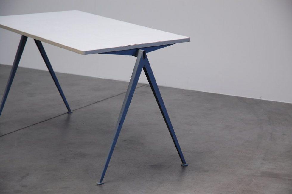 Wim Rietveld pyramid table for Ahrend de Cirkel 1960