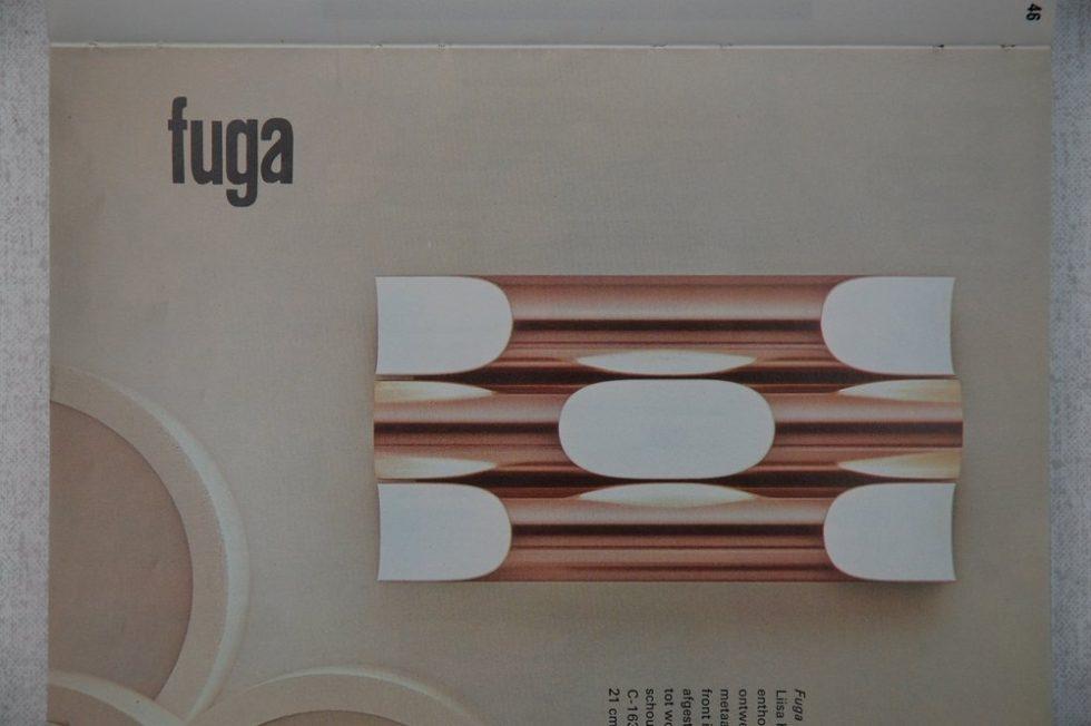 Raak FUGA sconces by Maija Liisa Komulainen 1970