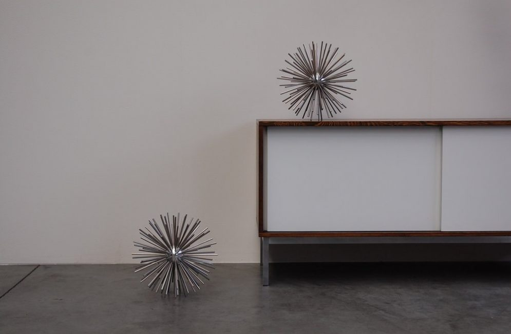 Curtis Jere sputnik Sculptures USA 1960