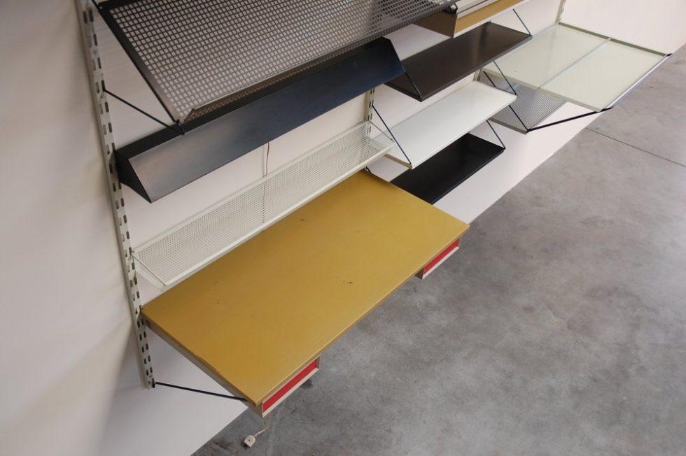 Pilastro Tjerk Reijenga bookcase / wall system 1960