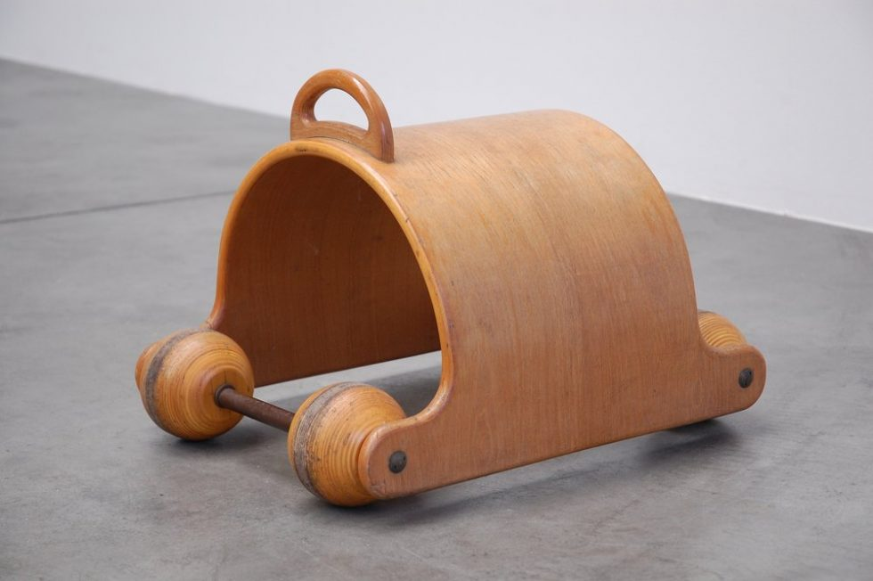 Plywood kids toy from Finland 1950s